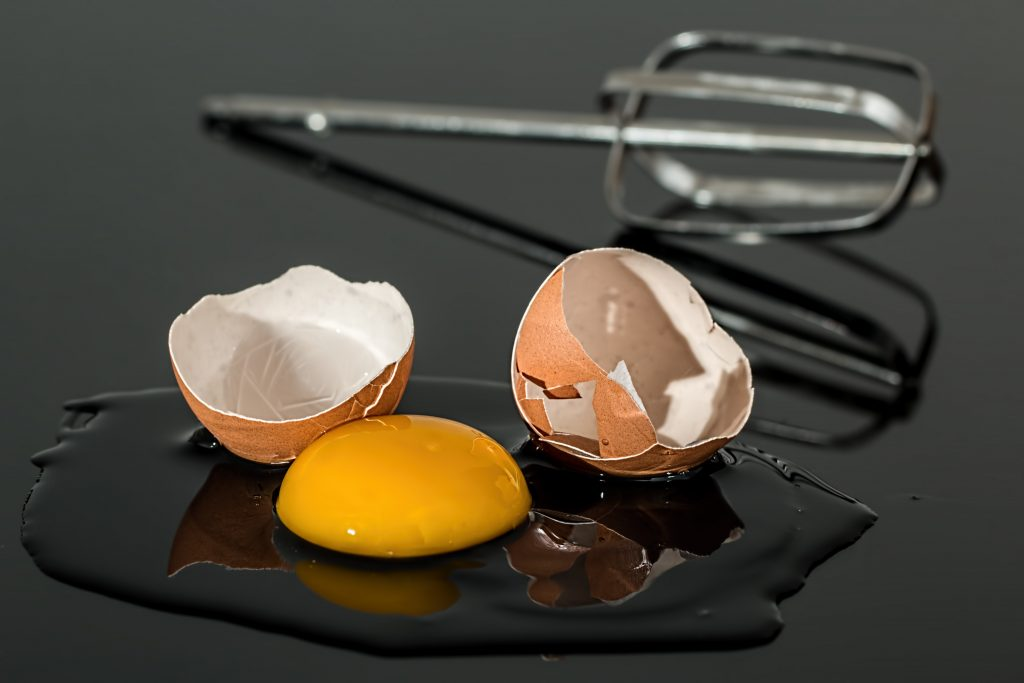 Ei und Eiweiß